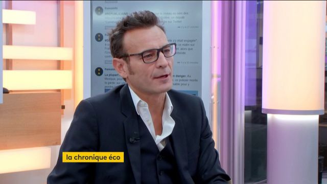 """Invité de Jean-Paul Chapel dans l'émission """": l'éco"""", mercredi 25 octobre, Éric Heyer, économiste à l'Observatoire français des conjonctures économiques, a évoqué la baisse du chômage en septembre."""