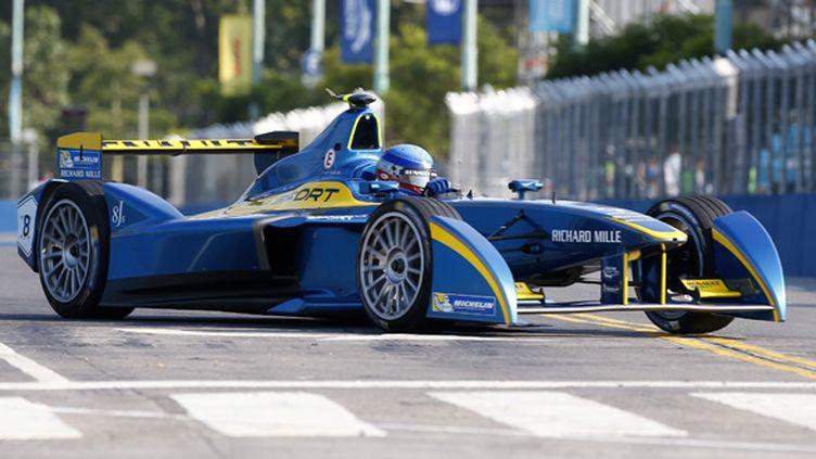 Nicolas Prost sur sa DAMS Renault (GREGORY LENORMAND / DPPI MEDIA)