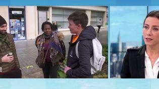 """La journaliste Virna Sacchi présente le nouveau numéro de """"Pièces à conviction"""" consacré aux enfants placés en foyer. Elle dévoile sur le plateau du 12/13 les coulisses de cette enquête exceptionnelle à découvrir sur France 3, mercredi 16 janvier à 21h. (Capture d'écran France 3)"""