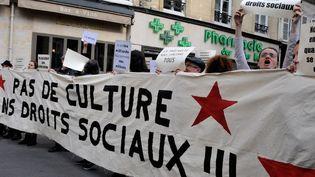 Manifestation d'intermittents du spectacle le 2 juin à Paris  (CITIZENSIDE/YANN KORBI / citizenside.com)