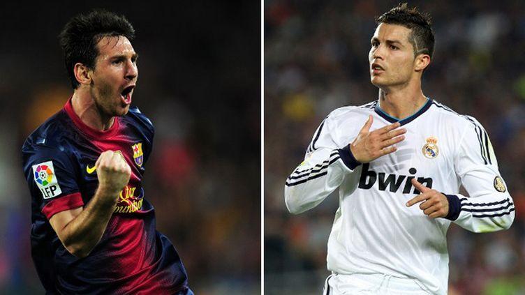 Lionel Messi et Cristiano Ronaldo, les deux buteurs du Clasico