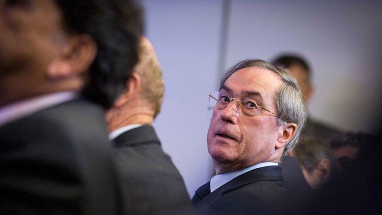 """(Claude Guéant écope de deux ans de prison avec sursis dans l'affaire dite des """"primes"""" de Beauvau © MAXPPP)"""
