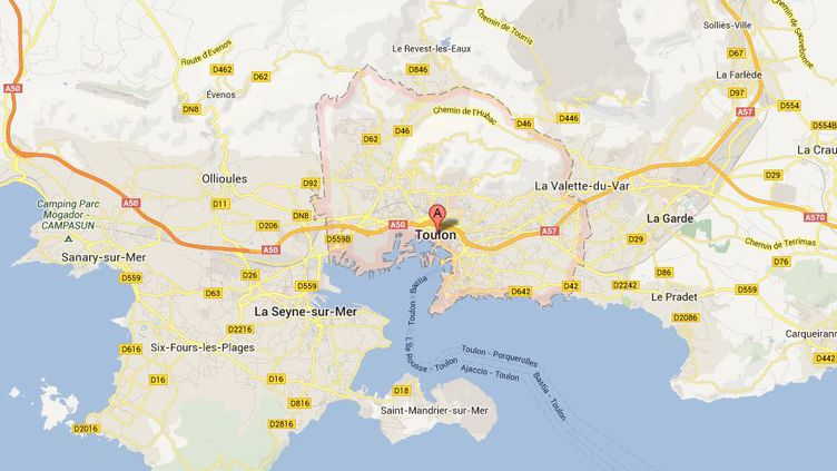 """Deux militairesde la base navale de Toulon, accusés de """"vol de matériel"""", ont été arrêtéslundi 17 juin 2013."""