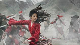 """L'actrice Yifei Liu tient le rôle titre dans """"Mulan"""" de Niki Caro (DISNEY ENTERPRISES / JASIN BOLAND)"""
