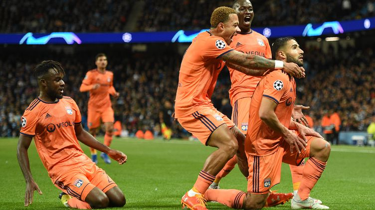 L'Olympique Lyonnais en Ligue des Champions  (OLI SCARFF / AFP)