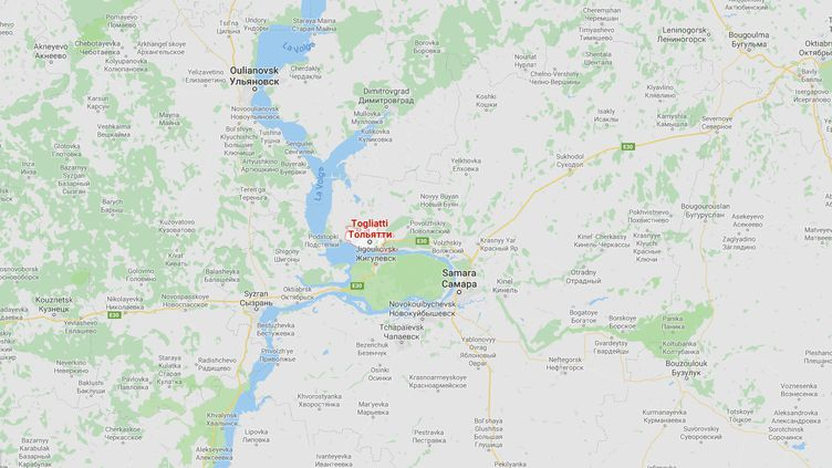 Gurvan Le Gall a été arrêté à Togliatti en mars dernier. (GOOGLE MAPS)