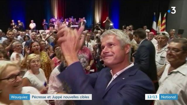 Valérie Pécresse et Alain Juppé, nouvelles cibles de Laurent Wauquiez