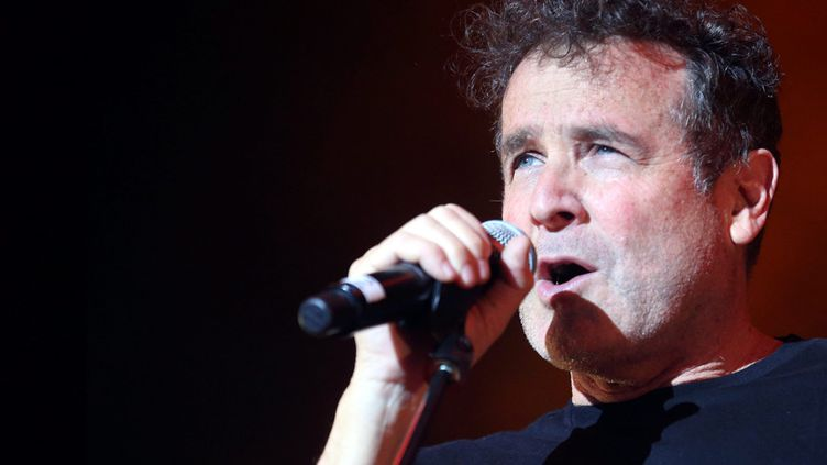 Johnny Clegg à Vaison la Romaine, Festival au fil des voix, août 2014  (Angelique SUREL / MAXPPP )