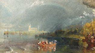 Jumièges, vers 1832, gouache et aquarelle sur papier de William Turner (TATE)