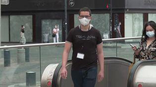 Covid-19 : le port du masque redevient obligatoire dans certains lieux à Toulouse. (FRANCE 3)