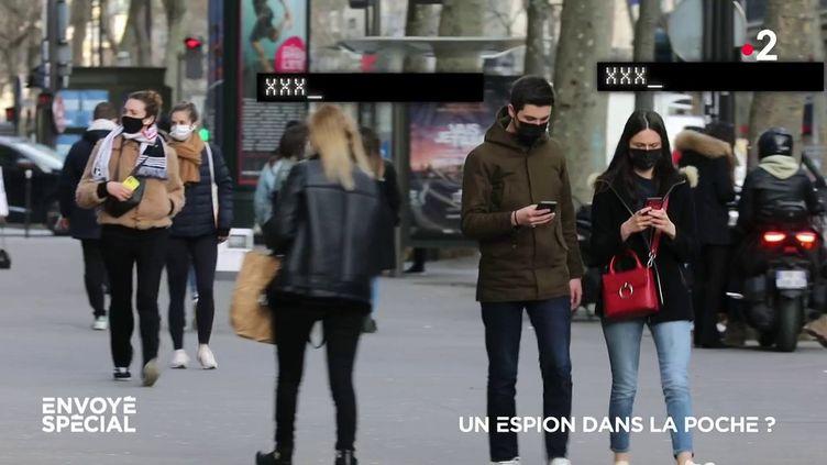 Envoyé spécial. Un espion dans la poche ? (ENVOYÉ SPÉCIAL  / FRANCE 2)