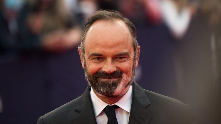 Le maire du Havre et ancien Premier ministre Edouard Philippe, lors du festival du cinéma américain de Deauville, le 4 septembre 2020 à Deauville (Calvados). (LOIC VENANCE / AFP)