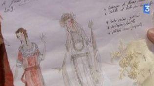 Dans les coulisses de l'Opéra de quat' sous : les costumes  (Culturebox)