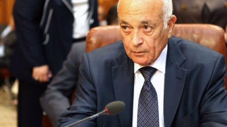 L'Egyptien Nabil al-Arabi, secrétaire général de la Ligue Arabe (15/05/2011) (AFP / Khaled Desouki)