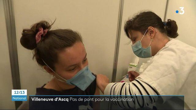 Covid-19 : la vaccination accélère à Villeneuve d'Ascq dans le Nord