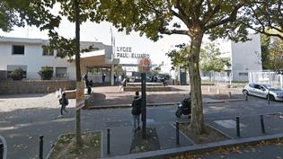 Le lycée Paul Eluard, à Saint-Denis. (GOOGLE MAPS)