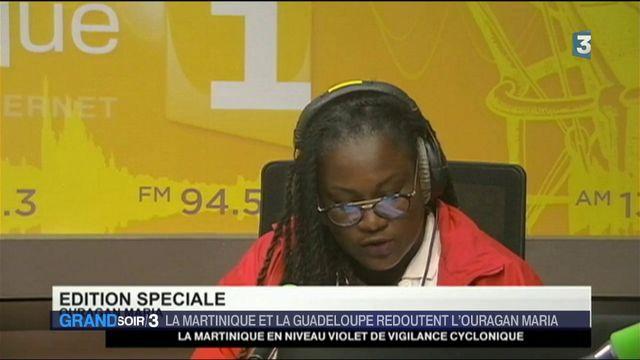 Ouragan Maria : la Martinique en alerte rouge