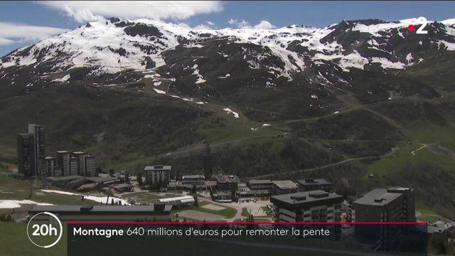 """""""Avenir montagnes"""" : un plan de relance pour aider les stations de ski"""