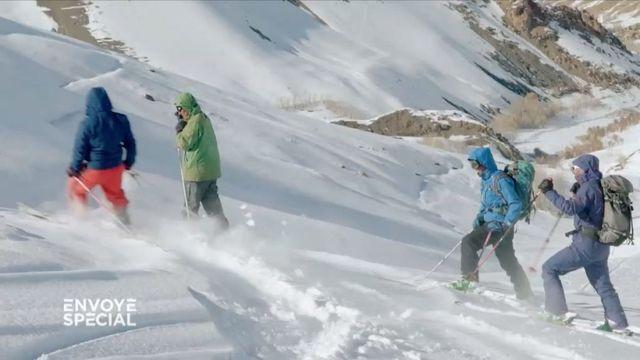 Envoyé spécial. Oui, on skie en Afghanistan !
