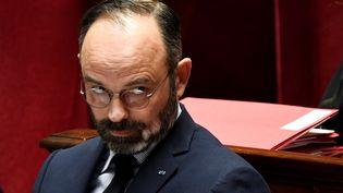 Edouard Philippe à l'Assemblée nationale, le 21 janvier 2020. (BERTRAND GUAY / AFP)