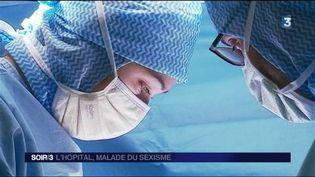 Les internes se plaignent de harcèlement à l'hôpital. (FRANCE 3)