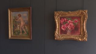 Ces deux tableaux de Renouard font partie des oeuvres volées par les nazis. (FRANCE 3)