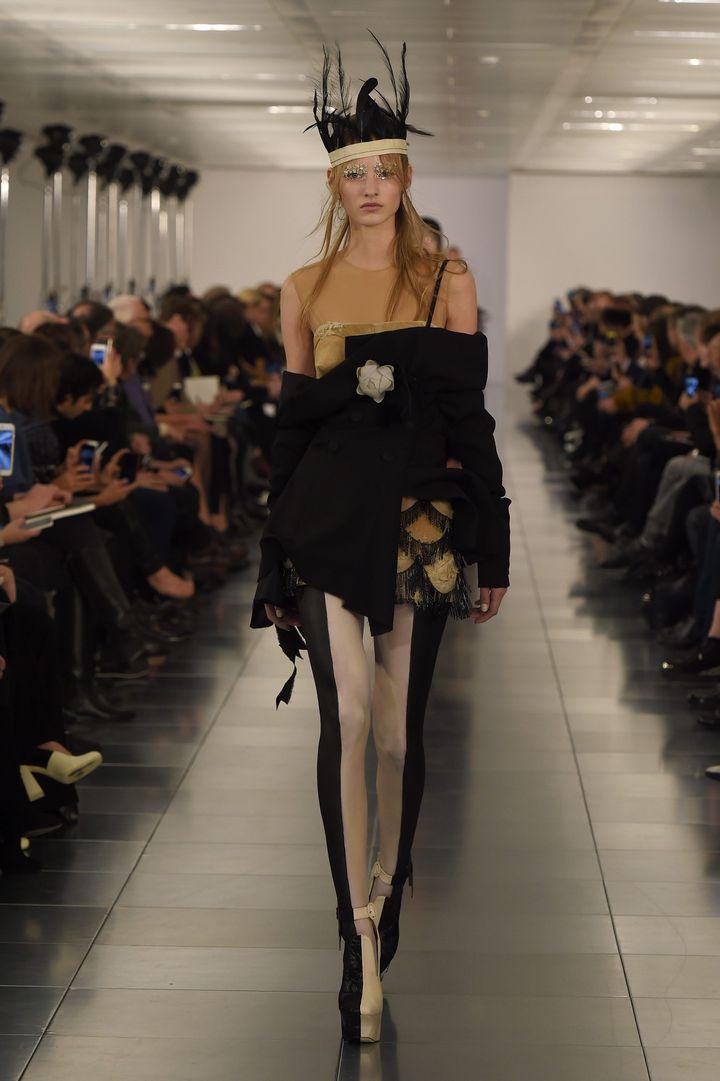 Maison Martin Margiela haute couture printemps-été 2015, à Londres  (PHOTOSHOT/MAXPPP)