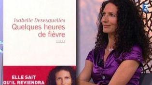 Isabelle Desesquelles invitée de C'est mieux le matin  (Culturebox)