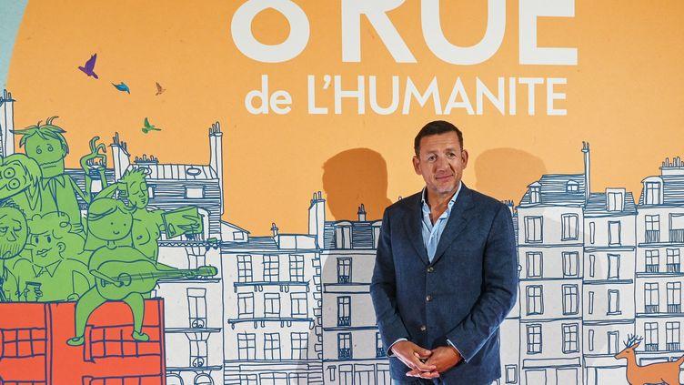 """Dany Boon à la première de son film """"8 rue de l'humanité"""", projeté le 24 septembre 2021 àVitry-en-Artois (Pas-de-Calais). (DENIS CHARLET / AFP)"""