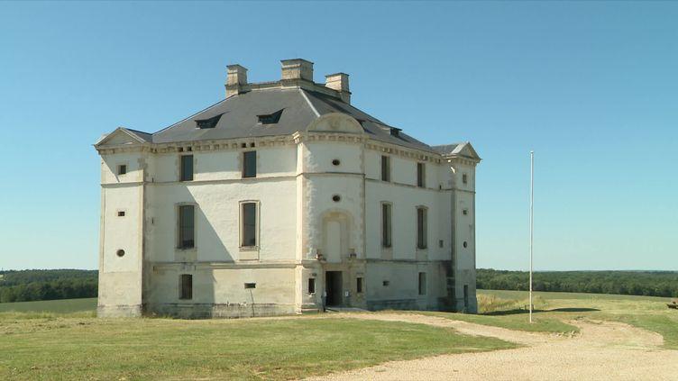 Le château de Maulnes dans l'Yonne a rouvert ce samedi 30 mai. (France 3 Bourgogne / C. Heudes)