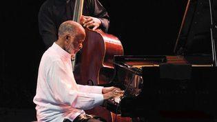 Ahmad Jamal le 12 juillet 2011 au Nice Jazz Festival  (Bebert Bruno / SIPA)