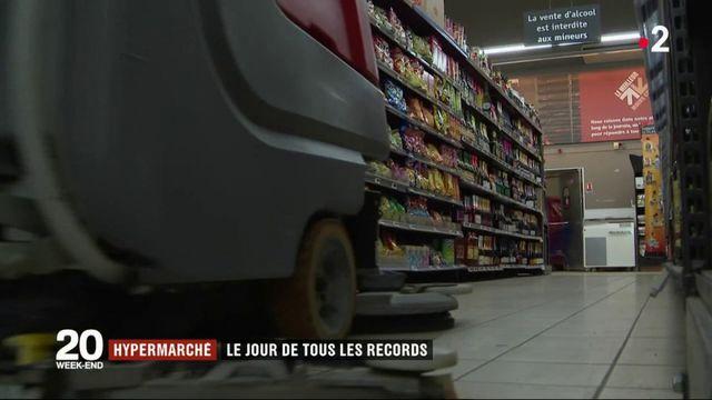 Hypermarché : le jour de tous les records