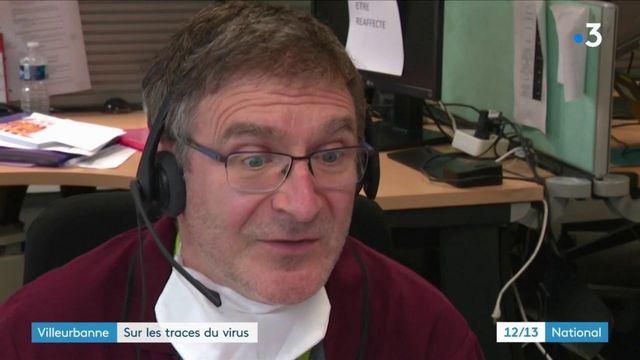 Villeurbanne : des agents tentent de briser les chaînes de contamination par téléphone