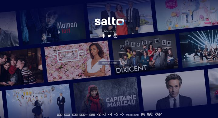 La page d'accueil de Salto. (SALTO)