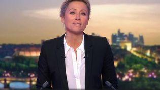 Anne-Sophie Lapix. (FRANCE 2)