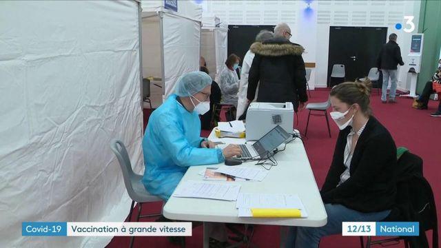 Covid-19 : la campagne de vaccination s'accélère en France