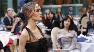 Lily-Rose Depp, défilé Chanel, métiers d'art, décembre 2016  (PATRICK KOVARIK / AFP)