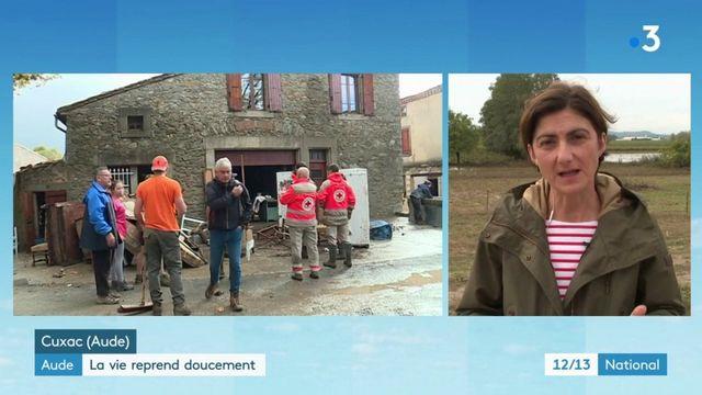 Aude : la vie reprend doucement après les inondations