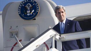 John Kerry arrive à Cuba, le 14 août 2015 pour rouvrir l'ambassade américaine à La Havane. (  REUTERS)