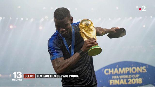 Coupe du monde 2018 : les facéties de Paul Pogba