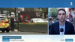 Le suspect a été arrêté. (FRANCE 3)
