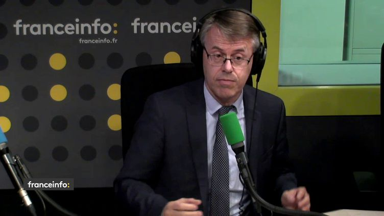 Eric Alauzet, député La République en marche du Doubs, était l'invité de L'interview J-1, lundi 4 décembre sur franceinfo. (FRANCEINFO / RADIO FRANCE)