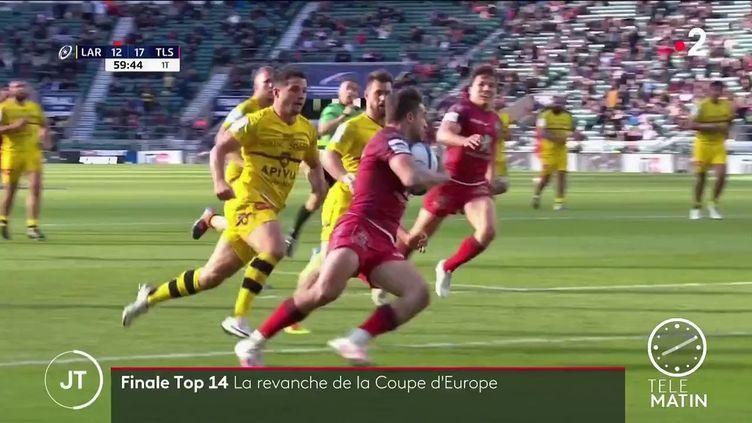 Des joueurs du Stade Toulousain et du Stade Rochelais. (France 2)
