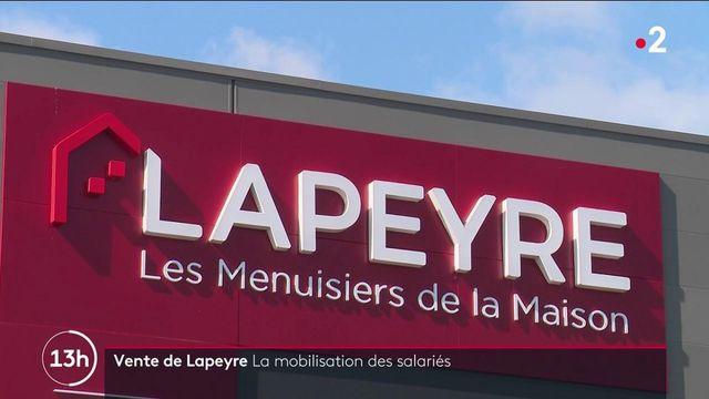 Vente de Lapeyre : les salariés de l'entreprise se mobilisent
