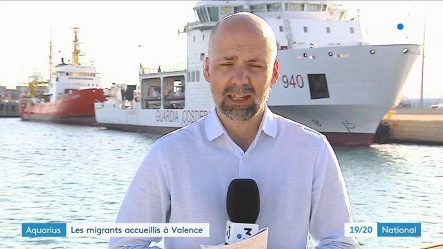 Aquarius : les migrants accueillis à Valence obtiendront un permis de séjour de 45 jours