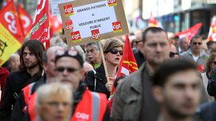 Un défilé syndical à Lille (Nord), le 1er mai 2014. (  MAXPPP)
