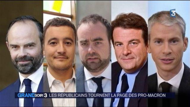 Les Républicains tournent la page des pro-Macron
