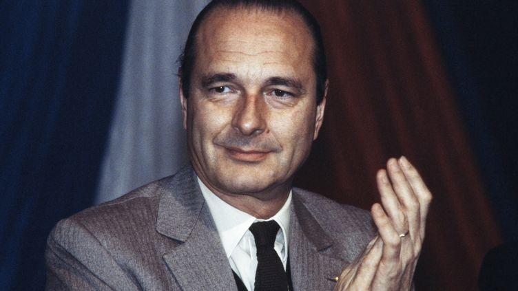 Jacques Chirac, en 1983. (JEAN-PIERRE MULLER / AFP)