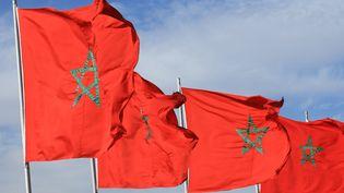 Le drapeau du Maroc. (MAXPPP)