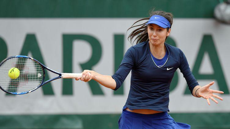 Oceane Dodin remporte son premier titre sur le circuit (MIGUEL MEDINA / AFP)